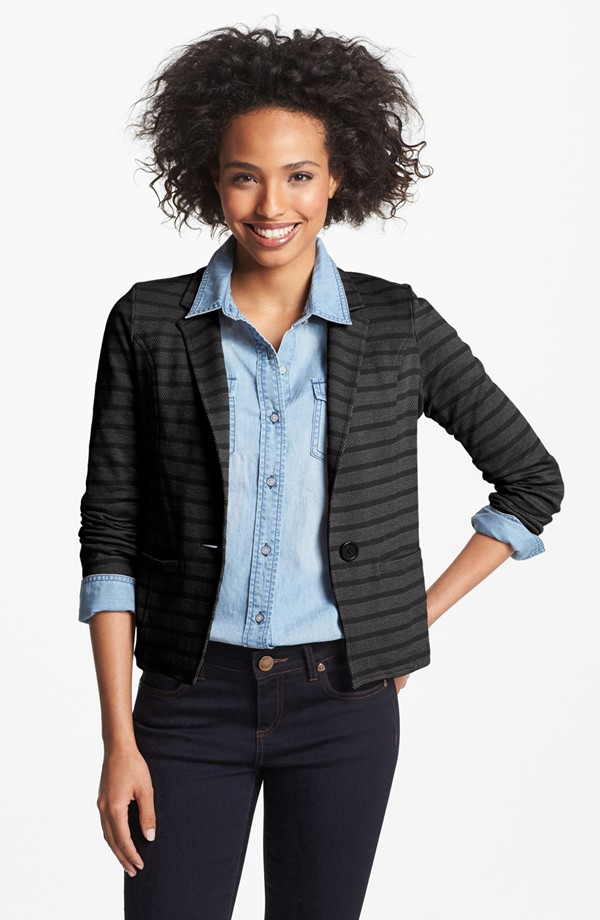 Caslon Knit Blazer (Sale: $38.90, After Sale: $59.00)