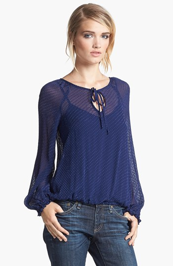 Ella Moss Textured Blouson Top (Sale: $119.90, After Sale: $178.00)