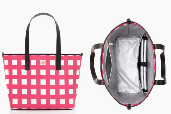 Kate Spade Checker Place Harmony Baby Bag ($139)
