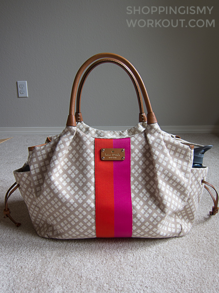 Kate Spade Stevie - Exterior Packed