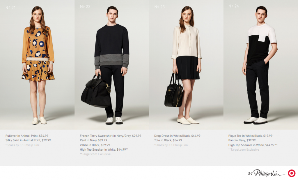 3.1 Phillip Lim for Target - Complete Lookbook
