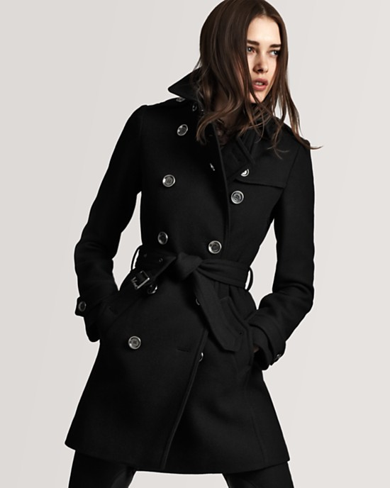 Burberry Brit Balmoral Classic Wool Trench (Sale: $796)