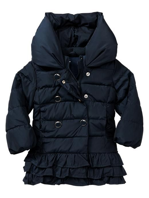 Gap Warmest Ruffle Jacket (Not available online, try in store) - $65