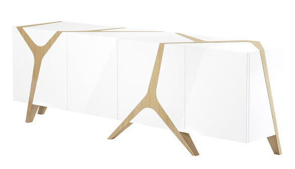 Roche Bobois Mangrove Sideboard designed by Marco Fumagalli