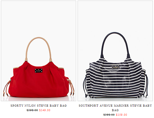 Kate Spade Stevie Diaper Bag Surprise Sale