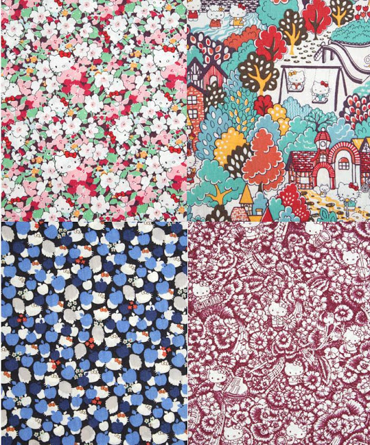 Hello Kitty Liberty prints