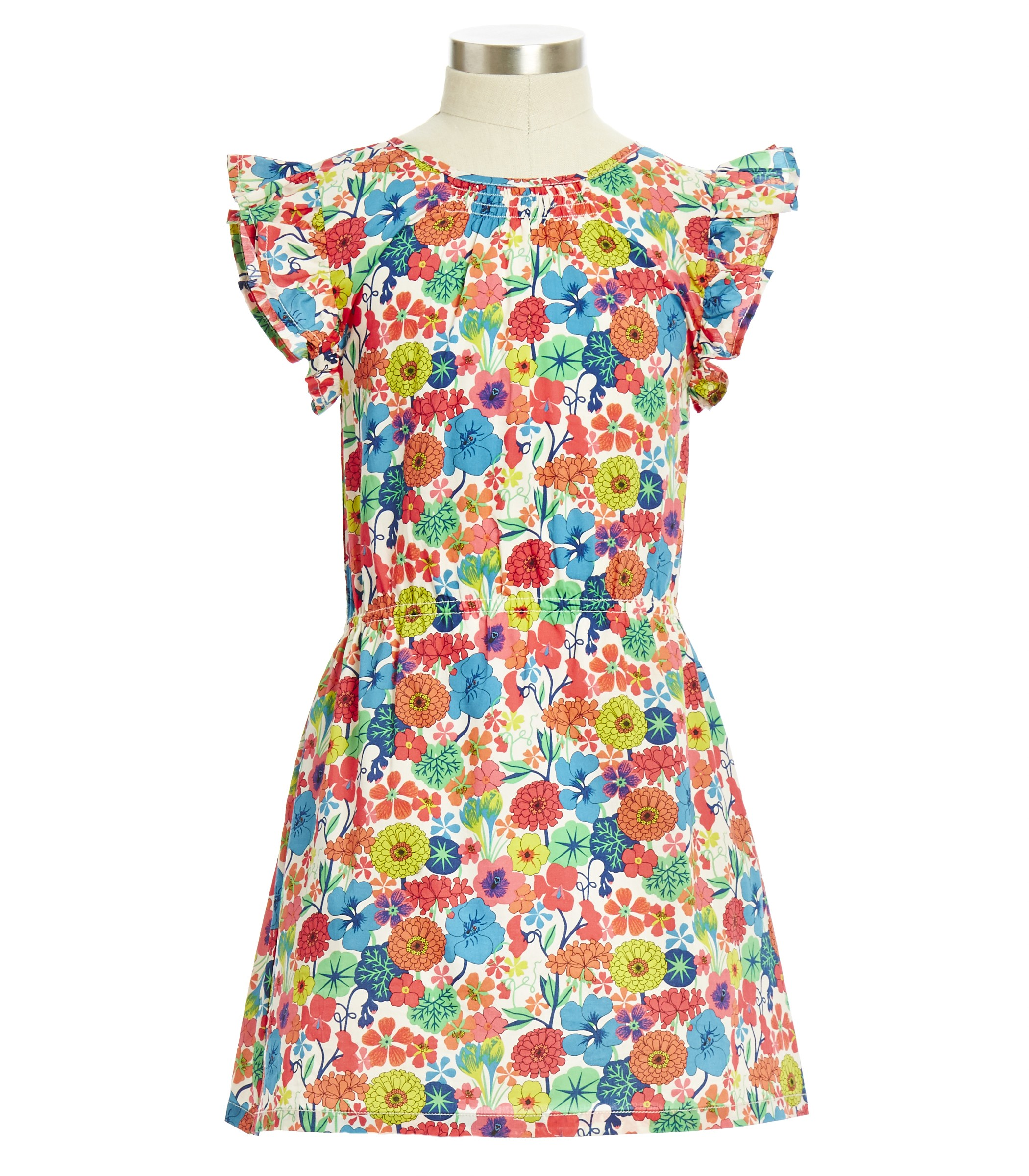 Peek O'Keefe Dress - Liberty of London print