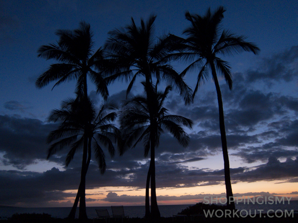 Incredible sunsets at the Andaz Maui