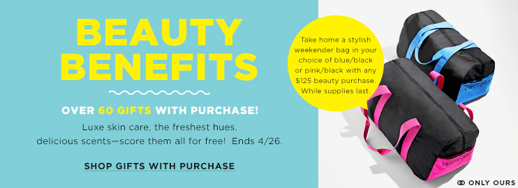 Bloomingdales Spring Beauty Gifts Promo
