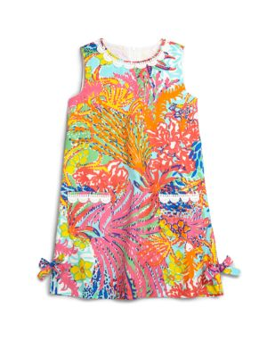Lilly Pulitzer Girls Classic Shift Dress - 30% off at Saks Friends & Family sale