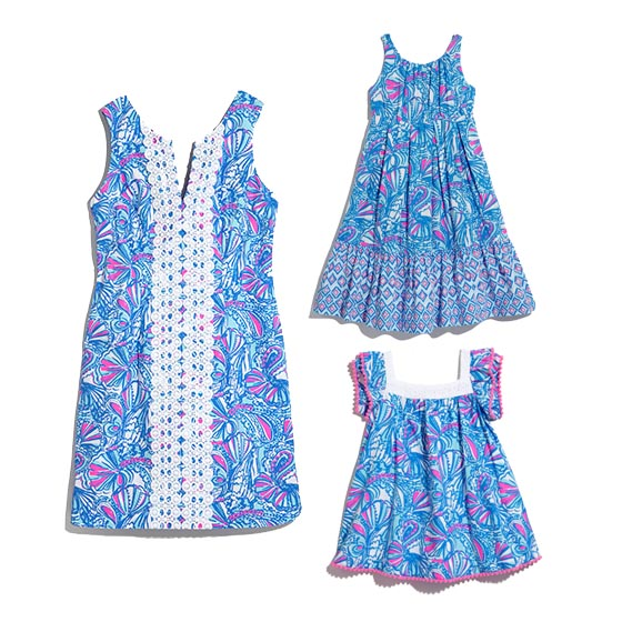 Lilly Pulitzer for Target - Seashells for Mommy and Daughters