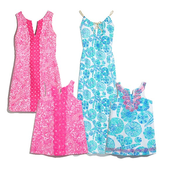 Lilly Pulitzer for Target Mommy and Daughter Dresses