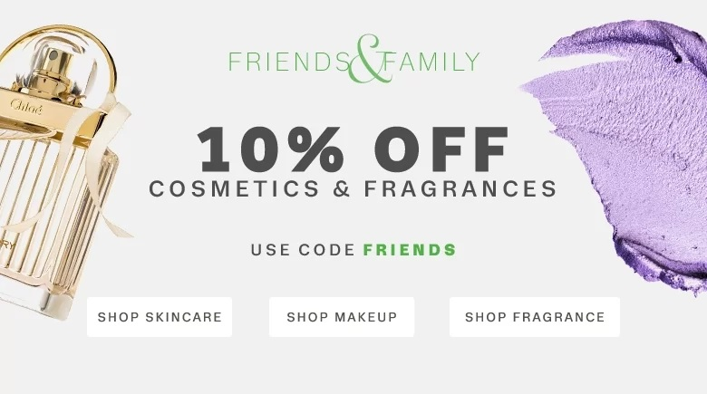 Lord and Taylor Beauty Sale 10% off