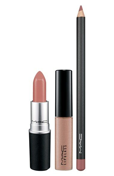 M·A·C 'Look in a Box - Pretty Natural' Lip Kit ($47 Value) - Nordstrom Anniversary Sale Beauty Exclusive 2015