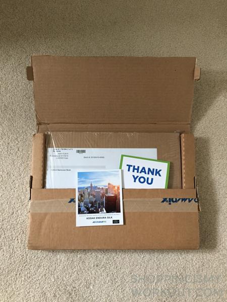 AdoramaPix Photobook - Outer Protective Mailer