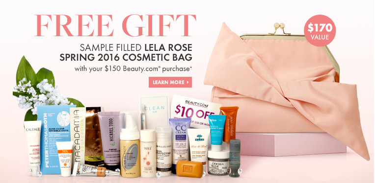 Beauty.com Spring 2016 Lela Rose Sample Bag