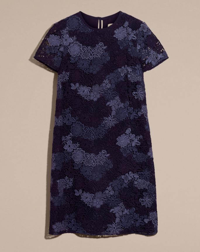 Burberry Lace T-Shirt Dress