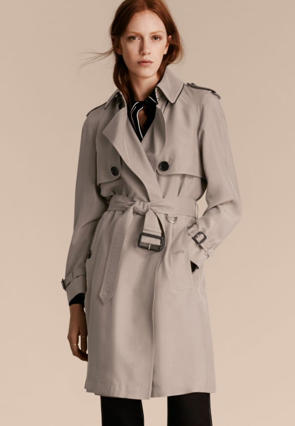Burberry Classic Oversized Detail Trench