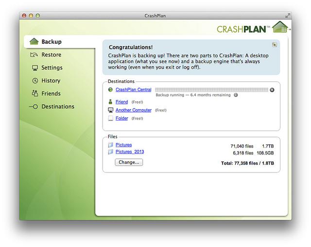 CrashPlanClient