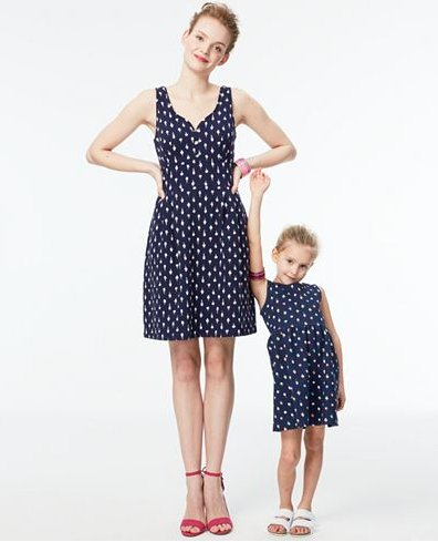 Mommy and Me matching ice cream dress