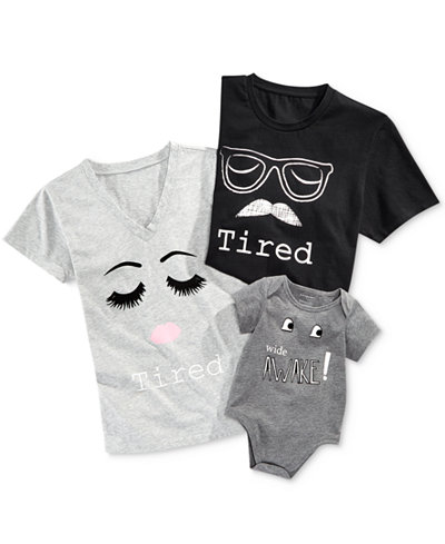 Matching Family T-Shirts for Mommy, Daddy and Baby